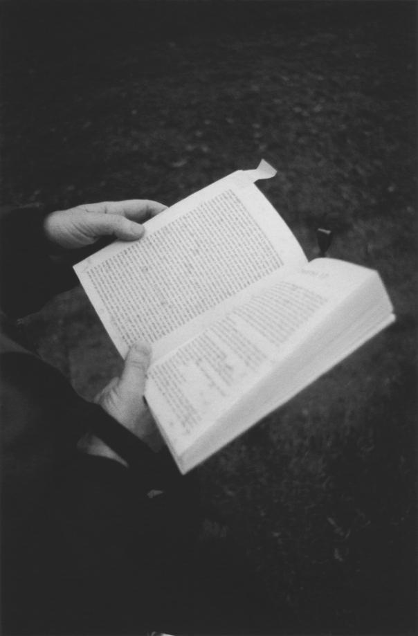 Reading at Lewisham Park